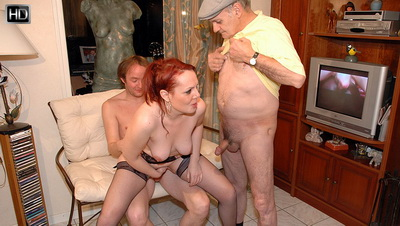 Old young gangbang videos